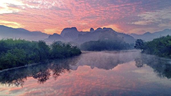 《神仙境地石壁溪》周明明 摄