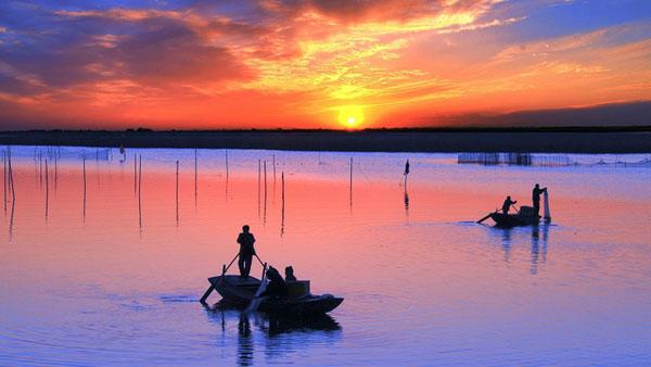 渔舟唱晚 杨蜀国 摄