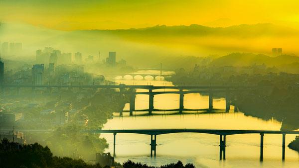 沙县五桥 黄三定 摄