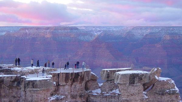 《美国大峡谷国家公园》-云台山风景区供图