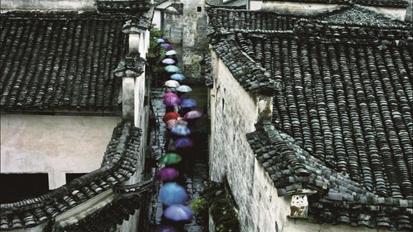 雨巷  王文摄
