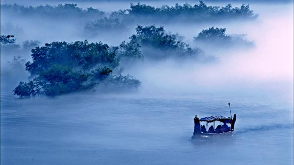 《雾锁紫金》叶颖摄