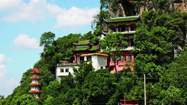建于唐朝的鹅翎寺