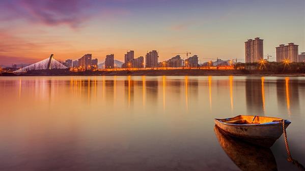 津河水岸 汪文一 摄