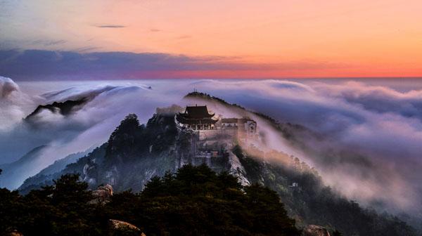 《天台初晨》 何清 摄