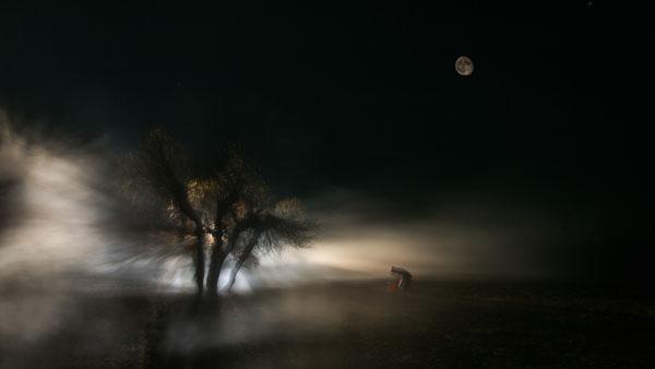 月夜 却吉 摄