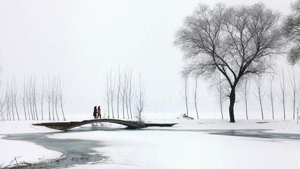 冬雪白洋淀 付永泰 摄