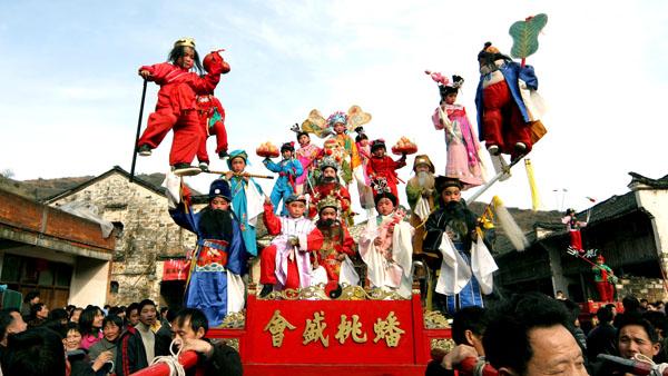 国家级非物质文化遗产《浦江迎会》吴拥军 摄