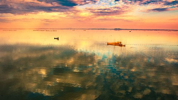 石臼湖 高淳区摄影家协会供图