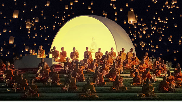 水灯节(泰国) 叶春辛 摄