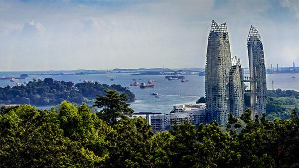 海滨风光(新加坡)高锡杰 摄