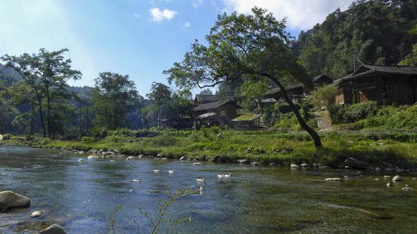 梵净山下的民居——凤形村 周文庆 摄
