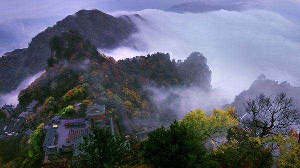 云雾绕仙山 蒲玉书 摄