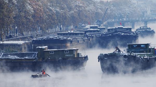 《里运河的早晨》-姜舟伟 摄