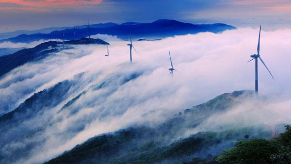 大容山绿色能源 袁地 摄