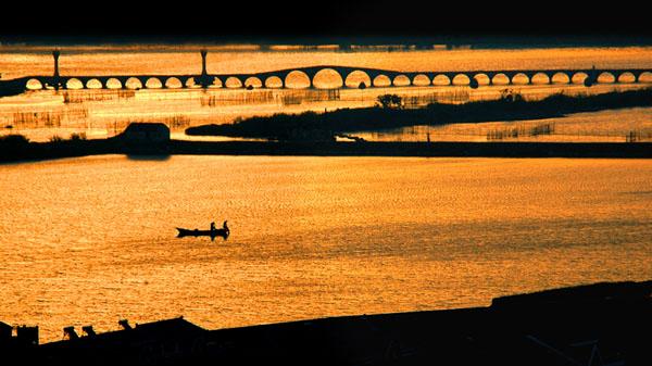 晨光下的宝带桥 张炎龙 摄