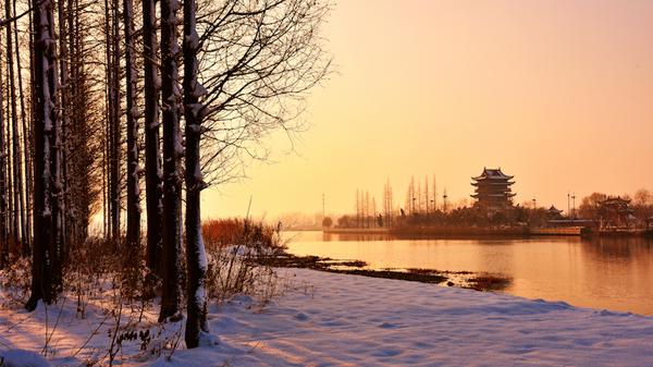 《家乡冬日印象》薛亿里 摄