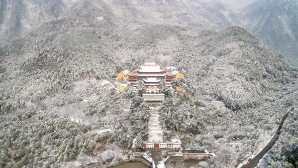 祖宫初雪 庄建新 摄