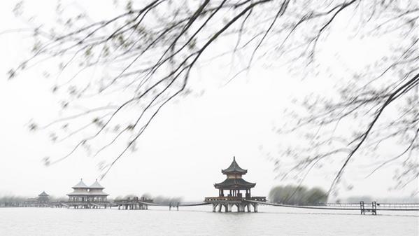 湖面一抹风 郑泓 摄