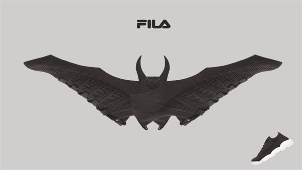 《FILA运动鞋创意》-黄亮