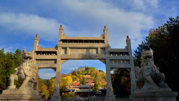 三祖禅寺(天柱山)  王立新 摄