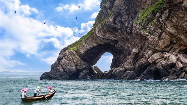 澳角象屿 许照临 摄