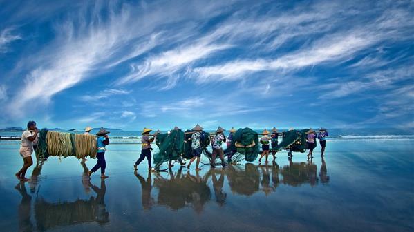 出海 周紫林 摄