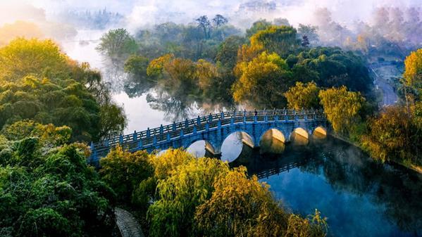 花溪国家城市湿地公园 李克平 摄