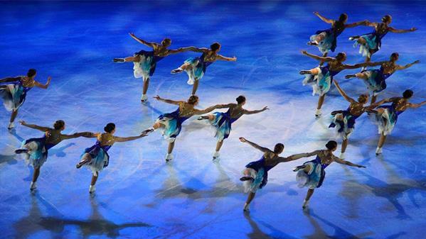 冰上芭蕾 沈敏觉 摄