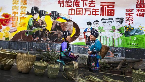 中国万年福 张寒烟 摄