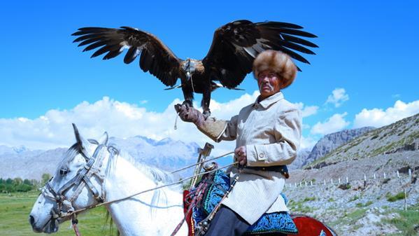 国家级非物质文化遗产——柯尔克孜族猎鹰文化 陈辉 摄