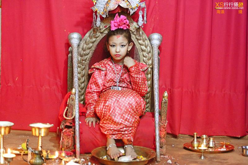 【行行摄色】尼泊尔慈善摄影团——因陀罗节拍摄活女神