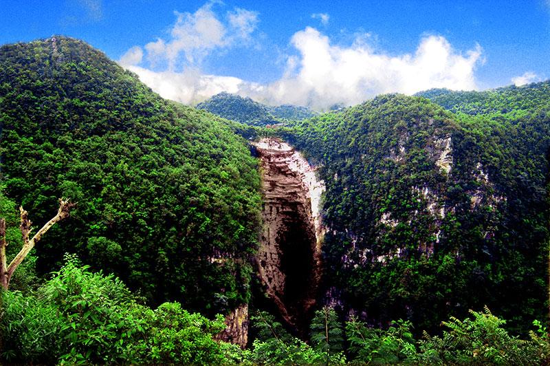 云南省昭通市风景图片