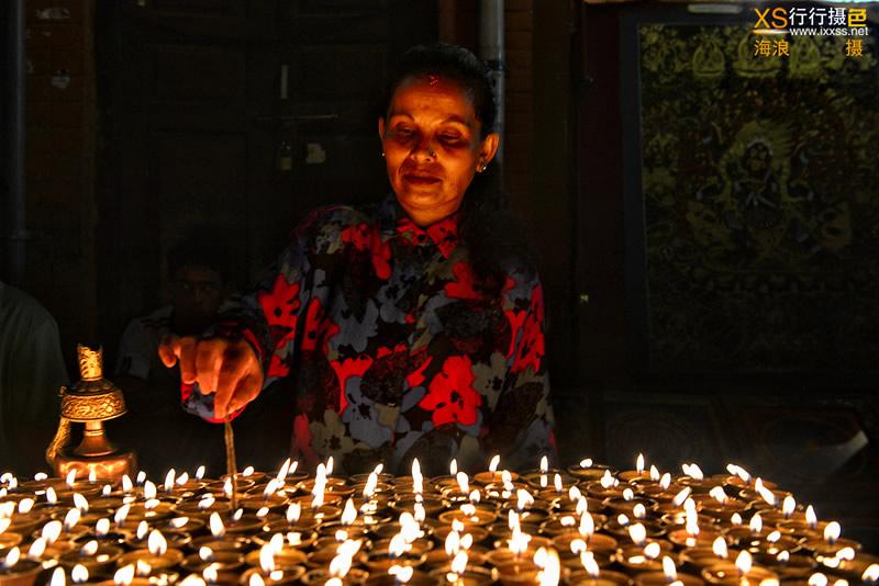 【行行摄色】尼泊尔摄影团——传统点灯节日