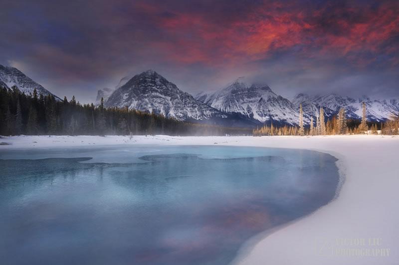 【行行摄色】加拿大摄影团——11天10晚,冬季冰泡湖与极光摄影