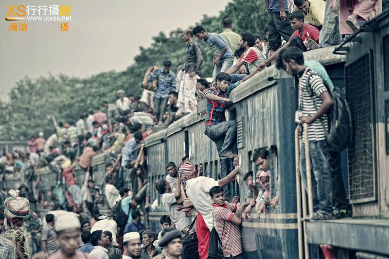 【行行摄色】孟加拉火车节摄影A团—9天8晚,记录孟加拉人疯狂的火车文化!