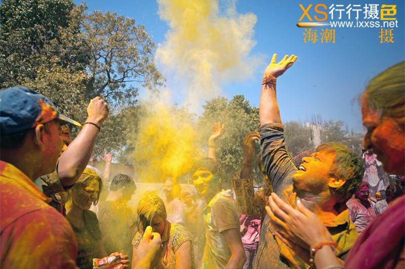 【行行摄色】印度洒红节摄影团—12天10晚,拍摄并体验印度洒红节狂欢盛宴