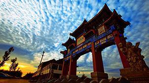 江北民俗文化摇篮——山东省潍坊市杨家埠民间艺术大观园