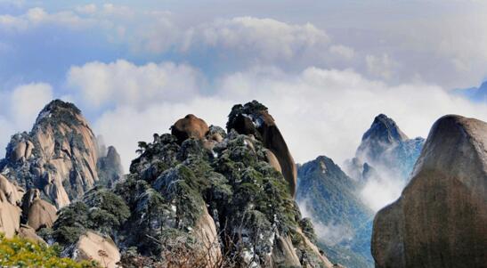 安徽安庆天柱山景区