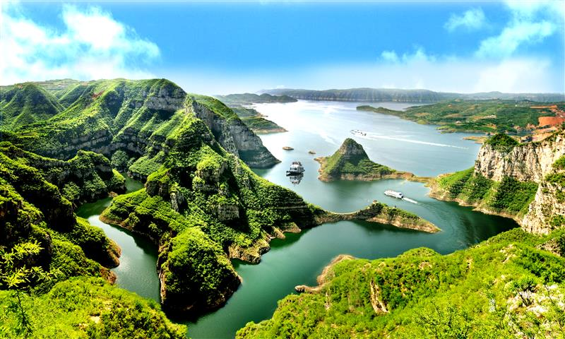 河南济源小浪底黄河三峡