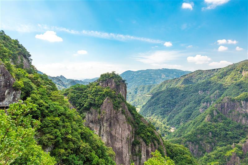 浙江温州龙湾潭国家森林公园