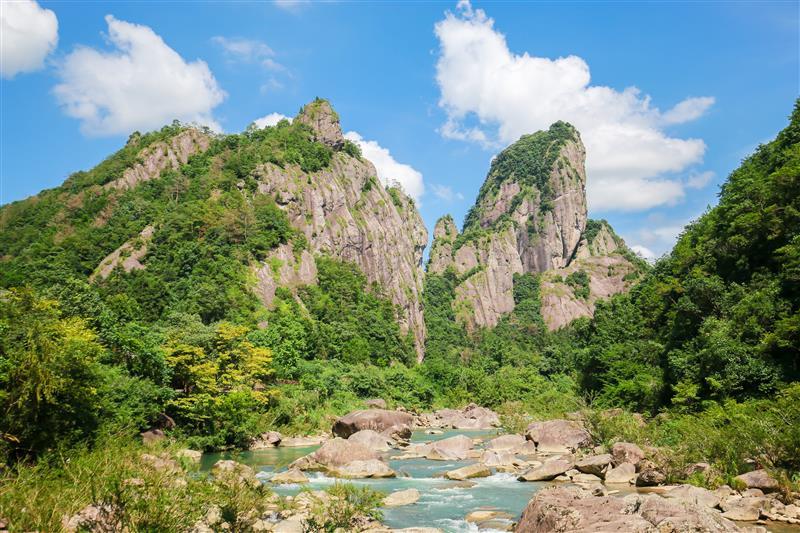 浙江温州石栀岩景区