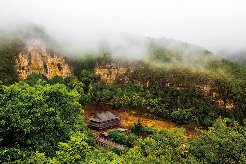 山东省潍坊市仰天山国家森林公园