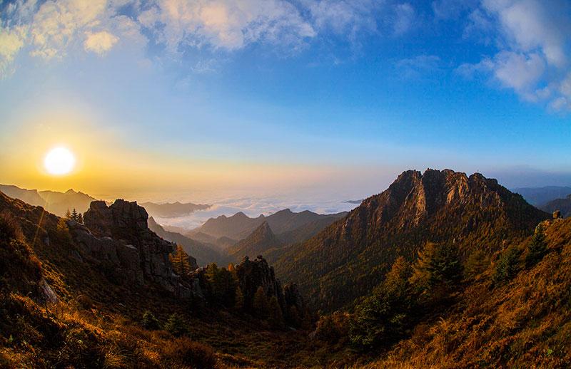 山西省忻州市芦芽山景区