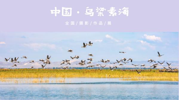 """""""中国·乌梁素海""""全国摄影作品展"""