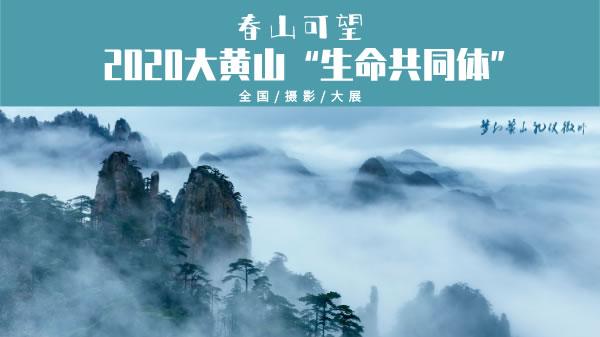 """2020大黄山""""生命共同体""""全国摄影大展"""