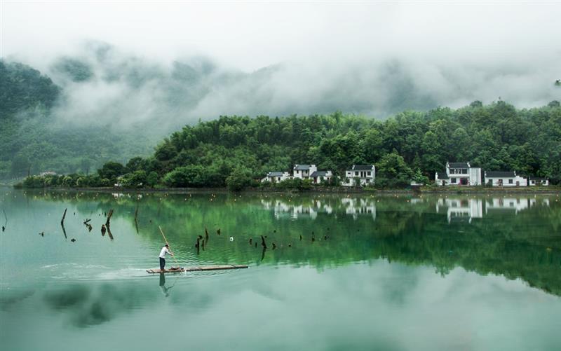宁国储家滩风景区