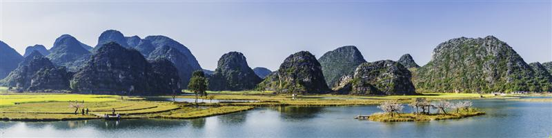 下一页 作品名称: 绿水青山桃花岛(接片)  作品描述: 普者黑位于云南