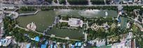 许昌西湖公园鸟瞰图
