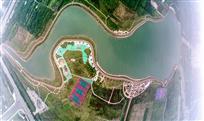 鹿鸣湖全景图